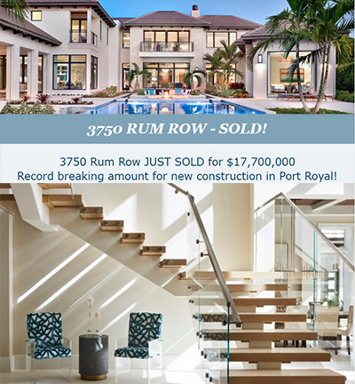 3750 Rum Row Record Breaking 17 million sale