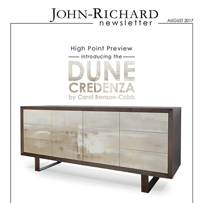 John Richard - August 2017 Newsletter - Ficarra Design