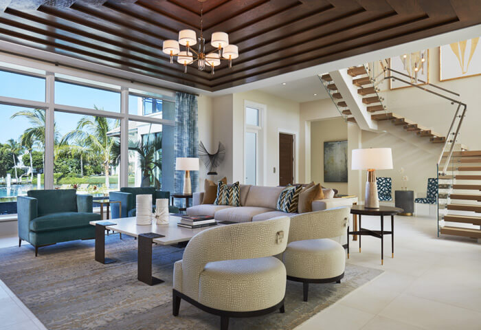 Port Royal Naples Transitional Interior Design Gallery